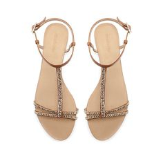 ANKLE STRAP SANDALS WITH CHAIN from Zara