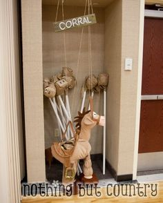 Hobby Stick Horses for Scouts - Western / Cowboy Cub Scout Blue & Gold Banquet | NothingButCountry.com