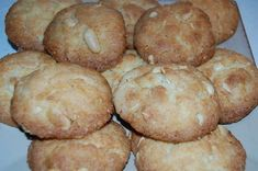 Crunchy rich biscuits, which last a very short time when I bake them. Biscuit Cookies, No Bake Desserts, Tray Bakes, Scones, Cake Recipes, Biscuits, Oven, Muffin, Good Food