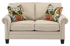 Travel the West Indies from the comfort of home with the Ballari loveseat <3