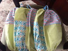 Carrier bag/duster holders