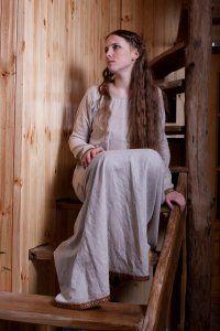 medieval flax undergarment