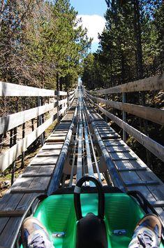 Tobotronc - the longest alpine slide in the world - Naturlandia, Andorra