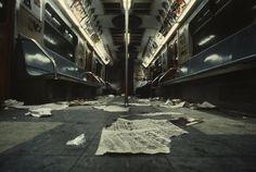 Christopher Morris, The New York Subway, 1981.  (Source: christophermorrisphotography.com)