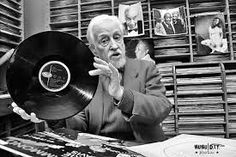 """jean-marie masse, founder of rimoju's """"hot club"""". and swing fm, radio dedicated to jazz and all. he's over 90 and still on the spot ! Radios, Swing Jazz, Jazz Radio, Around, Club, Hot, Record Collection"""