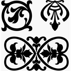 Ornamental design elements