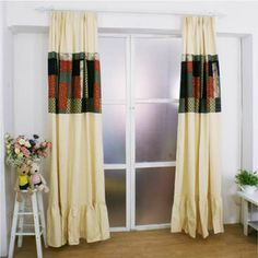 Curtains Home & Garden Curtains For Living Room Dining Modern Curtains For Bedroom Blackout Scandinavian Mediterranean Splicing Princess Window Tulle Fine Workmanship