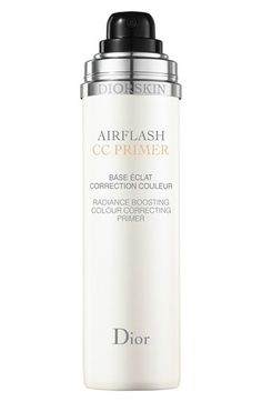 Dior 'Airflash - CC Primer' Radiance Boosting Color Correcting Primer available at #Nordstrom