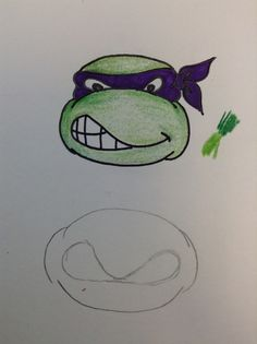 How to Draw a Teenage Mutant Ninja Turtle