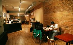 Manic Coffee Coffee Places, Coffee Shops, Toronto, Conference Room, Image, Home Decor, Cafes, Room Decor, Coffee Shop
