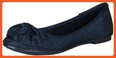 Rocket Dog Women's Martina Flat,Navy Thai Silk,6 M US - Flats for women (*Amazon Partner-Link)