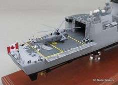 SD Model Makers > Frigate Models > Halifax Class Frigate Models Royal Canadian Navy, Ship Names, Shipping Crates, Model Maker, Work Horses, Paint Schemes, Display Case, Ottawa, Sd