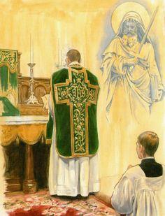 Epístola Santa Missa de Sempre - Imagens - Associação Santo Atanásio