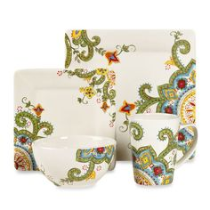 Tabletops Unlimited Abbey Square Dinnerware Collection-bed Bath & Beyond