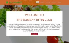 Bootstrap Restaurant Website Template - Free Website Template by TemplatesCreme