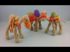 Portal de Belen amigurumi - Video 6 - Los Camellos Reales - Alas de Hada y Ganchilleando Lokuras - YouTube