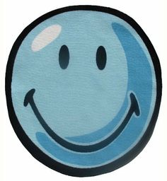 Roule Smiley World Collection Smiley Round 39 Inch Diamter Kids Area Rugs by Roule Rugs. $39.99. Save 76% Off!