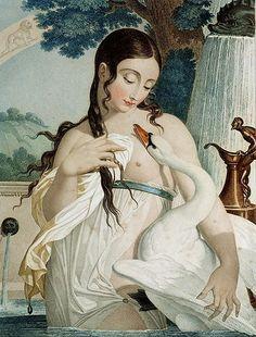 Leda y el Cisne. [Prints of the French Revolution]  Thermidor, 1797 ,  Salvatore Tresca