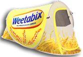 Branded Tent Weetabix