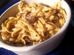 ~Beef n Noodles~ Some things will always taste better when made by mom w/ love.