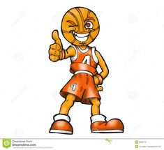 Illustration about Cartoon basketball player. Mascot with basketball head and thumbs up. Illustration of basketball, ball, mascot - 2036170 Tnt Basketball, Basketball Games Online, Outdoor Basketball Court, Basketball Birthday Parties, Basketball Skills, Basketball Socks, Basketball Leagues, Basketball Legends, Basketball Uniforms