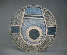 Louise Jinks for Troika pottery - wheel vase 