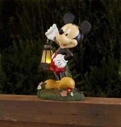Cool Mickey Mouse solar lantern.
