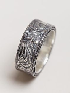 Mens Western Style Wedding Band Getting hitched Pinterest