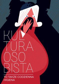 kultura poster graphic design