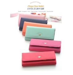 Shinzi Katoh 2 Stage Clear Wallet/ Smartpouch Cool Things To Buy, Stuff To Buy, Card Case, Stage, Wallet, Cool Stuff, Cards, Cool Stuff To Buy, Maps
