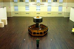 Trading floor of the old Toronto Stock Exchange. [YES. This. Just like this.]