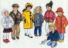 It's a Wrap - Children's Coats sizes 2-6-It's a Wrap - Children's Coats sizes 2-6