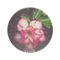 Cute Little Pink Flower Drink Coaster - home gifts ideas decor special unique custom individual customized individualized