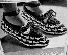 Star 21 Slipper Crochet Pattern-I would make this without the vamp on top. It is too much for the slipper.