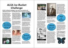 This is an article I wrote for on the ALS ice bucket challenge. Online Portfolio, Bucket, Challenges, Ice, Writing, Ice Cream, Being A Writer, Buckets, Aquarius