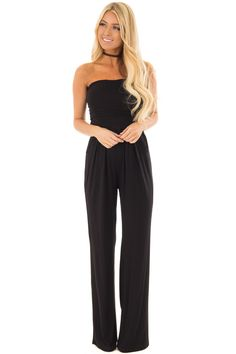 fac32d4548c4 Lime Lush Boutique - Black Sleeveless Jumpsuit with Pockets