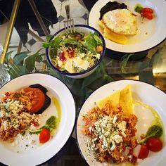Eggs special at Philos all day cafe & restaurant, Kolonaki