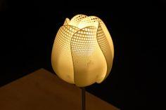 3d Printed Lamp Modeled in Blender