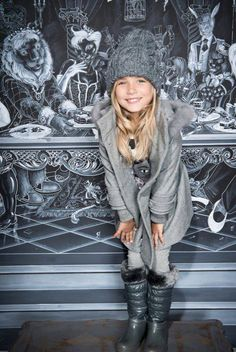 ALALOSHA: VOGUE ENFANTS: A miracle winter collection by Artigli Girl brand
