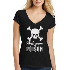 SALE Prck your poison, Halloween Shirts, halloween shirts for women, trendy fall shirts, halloween tshirts for women, women clothing