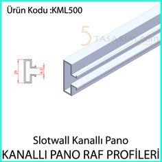 kanallı pano raf profilleriKML500