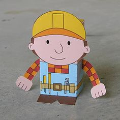 This site has a TON of these figures you make from paper. I'm thinking it would be great for a themed party (or even to use on a cake).