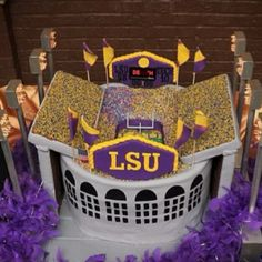 backdrops for parties Death Valley Lsu, Groomsman Cake, Tiger Cake, Lsu Tigers, Backdrops For Parties, Bees Knees, Groom And Groomsmen, Cute Cakes, Baton Rouge