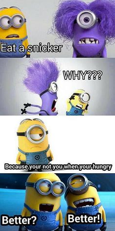 Everyone Turns Into a Minion When They're Hungry http://srsfunny.tumblr.com/ by Real genius, via Flickr