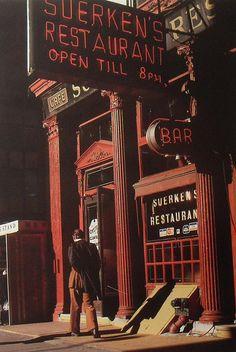 1970s NYC Tribeca PARK PLACE SUERKENS Bar RESTARUANT Church Street vintage photo. by Christian Montone, via Flickr
