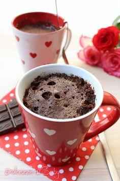 torta in tazza cioccolato