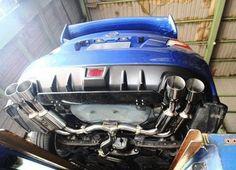 Invidia Gemini Stainless Steel Catback Exhaust Subaru WRX 11-14/STI 11-14 (Sedan)