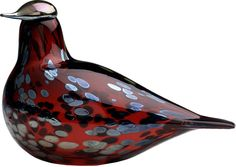 Iittala - Birds by Toikka Ruby bird 210x130 mm cranberry - Iittala.com