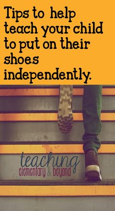 Looking for different ways to help teach kids how to put their shoes shoes on independently? Check out these tips and tricks! I wish I had known about the idea # 1 when my kids were small!