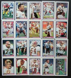 1991 Bowman Washington Redskins Team Set of 20 Football Cards Mark Rypien, Football Cards, Baseball Cards, Washington Redskins, Eagles, Ebay, Soccer Cards, Eagle, The Eagles
